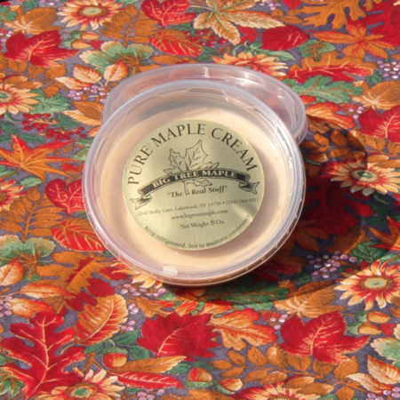 Maple Flavored Cream Spread
