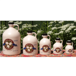 Sugarhill Maple syrup jugs