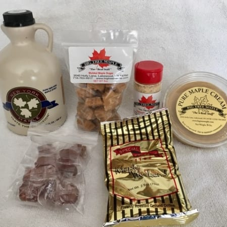 Maple Sugar Product Sampler Package